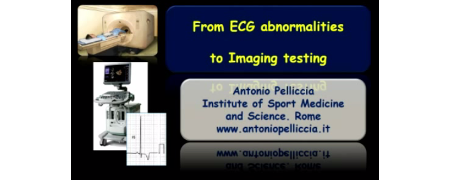 Indication to imaging testing for diagnosis of cardiomyopathies in athletes