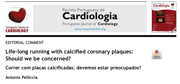 Life-long running with calcified coronary plaques: Should we be concerned?