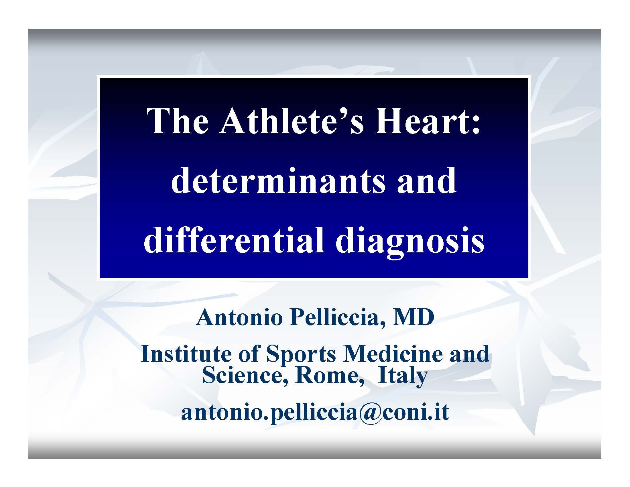 athlete's heart